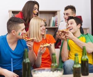 These vom Pizza-Boykott der Deutschen