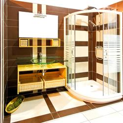 duschdekor farbe f r das hotel bad das objektm bel journal. Black Bedroom Furniture Sets. Home Design Ideas